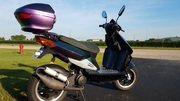 2007 Keeway 49cc scooter with custom paint for sale